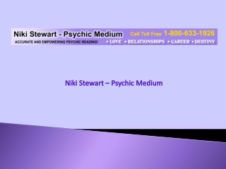 Accurate and Empowering Psychic Reading