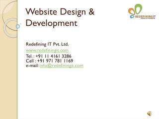 Website Designing and Development Company Delhi