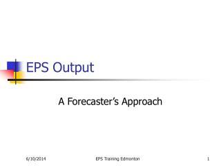 EPS Output