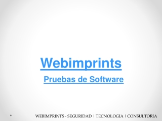 Pruebas de Software en M