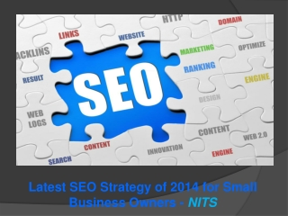 Latest SEO Strategy of 2014 for Small Business Owners - NITS