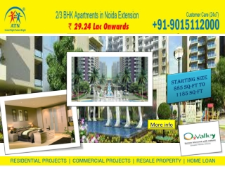 Available 885 sq-ft floor area in amrapali o2 valley noida e