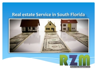 Real Estate Services in South Florida