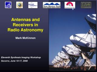 Antennas and Receivers in  Radio Astronomy