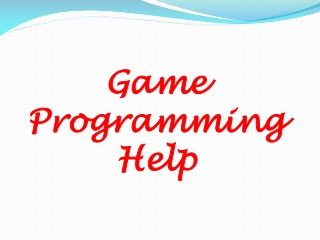 game programming help