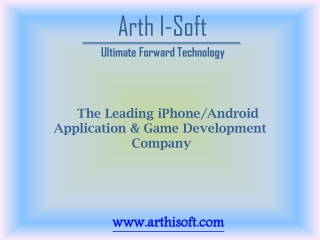 Arth I-Soft Mobile App Development Company