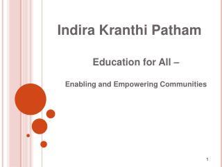 Indira Kranthi Patham