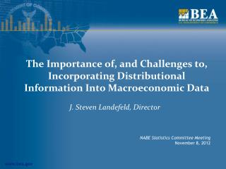 The Importance of, and Challenges to, Incorporating Distributional Information Into Macroeconomic Data