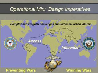 Operational Mix:  Design Imperatives