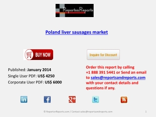 Poland liver sausages market Industry Analysis, Overview, Fo