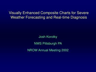Visually Enhanced Composite Charts for Severe Weather Forecasting and Real-time Diagnosis