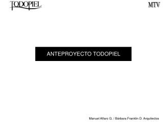 ANTEPROYECTO TODOPIEL