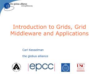 Introduction to Grids, Grid Middleware and Applications