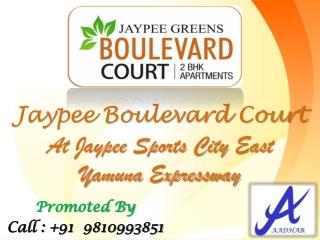 2BHK Jaypee Boulevard Court @ 9810995851 Yamuna Expressway