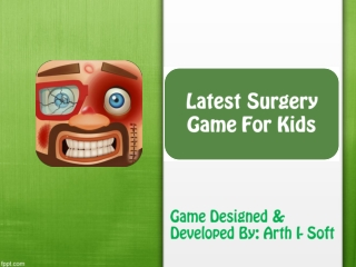 GameiMax Launched Latest Surgery Game for Kids