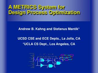 A METRICS System for  Design Process Optimization