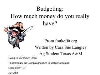 Budgeting: How much money do you really have