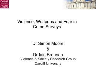 Violence, Weapons and Fear in Crime Surveys