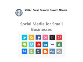 SBGA on Social Media for Small Business