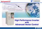 High Performance Inverter with  Advanced Vector Control