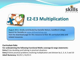 E2-E3 Multiplication