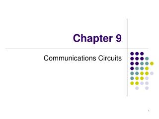 Communications Circuits