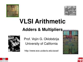 VLSI Arithmetic Adders  Multipliers