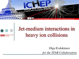 Jet-medium interactions in heavy ion collisions
