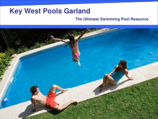 Key West Pools Garland