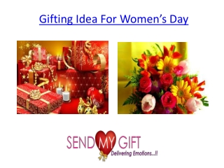 Gifting Idea For Women's Day