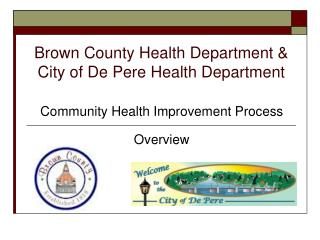 Brown County Health Department   City of De Pere Health Department