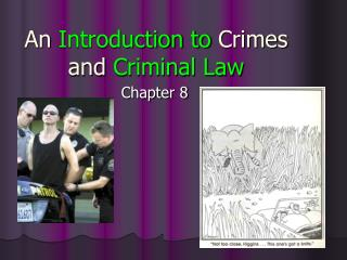 An Introduction to Crimes and Criminal Law