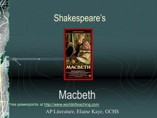 Shakespeare s