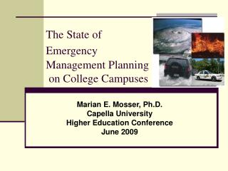 The State of Emergency Management Planning  on College Campuses