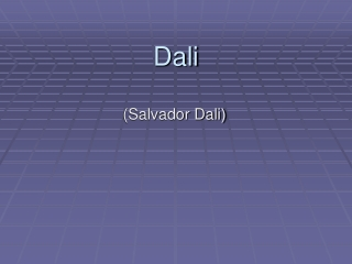An Eye Opening Experience Salvador Dali