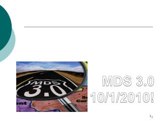 MDS 3.0 10