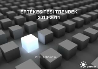 RT KES T SI TRENDEK  2013-2014