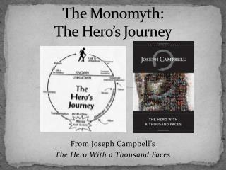 The Monomyth:   The Hero s Journey