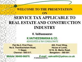 K.Vaitheeswaran Co.
