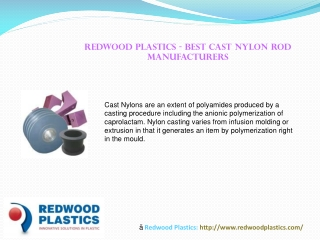 Redwood Plastics - Best Cast Nylon Rod Manufacturers