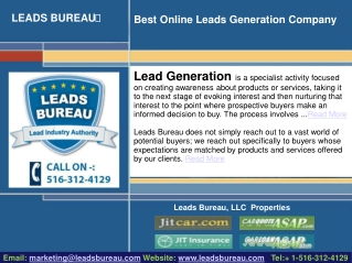 Lead Generation Agency, A Source To Find The Real Buyers