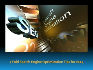 7 Fold On Page Search Engine Optimization Tips for 2014