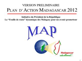 PLAN  D  ACTION MADAGASCAR 2012