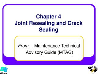 chapter 4 joint resealing and crack sealing