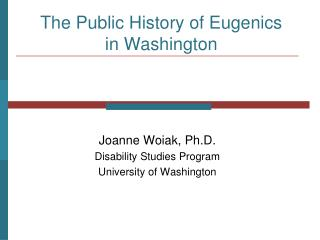the public history of eugenics in washington