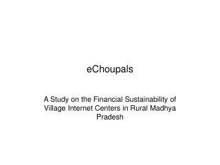 EChoupals