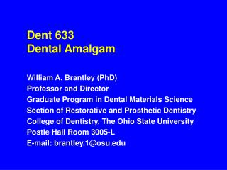 dent 633 dental amalgam