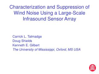 Characterization and Suppression of Wind Noise Using a Large-Scale Infrasound Sensor Array