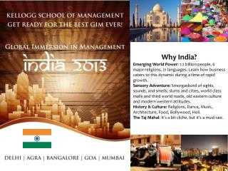Why India Emerging World Power: 1.2 billion people, 6 major religions, 21 languages. Learn how business caters to this d