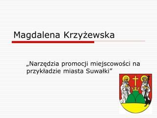 Magdalena Krzyzewska